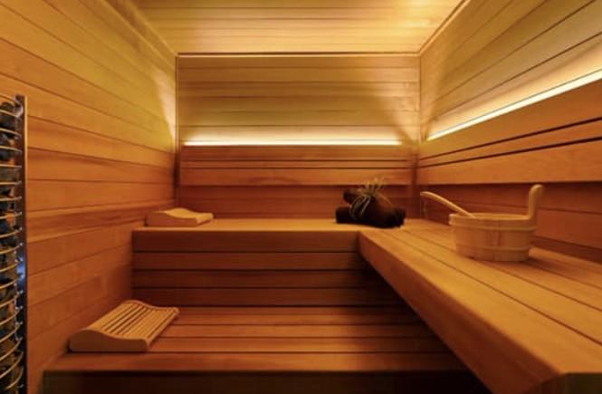 Luxe privé sauna