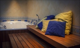 Privé sauna Wellness Azuur