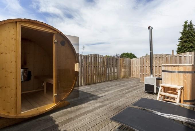 Privé sauna Akwa