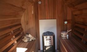 Privé sauna Aan den Oever