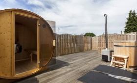 Wellness overnachting Privé sauna Akwa